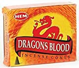Räucherkegel - Duft: Dragons Blood