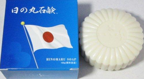 日の丸石鹸 100g