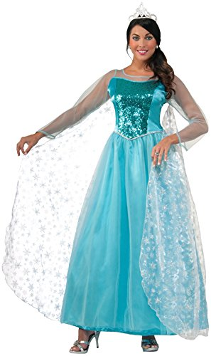 Forum Novelties Women's Princess Krystal Costume, Blue, Standard