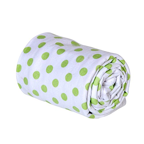 Trend Lab Swaddle Blanket, Sage Dot
