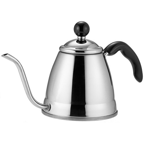 Fino Pour Over Coffee Kettle, 18/8 Stainless Steel, 6-Cup, 1.2L Capacity (10 Cup Electric Tea Kettle compare prices)