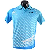 Li-Ning Blue Polo T-shirts (MRN-1010)