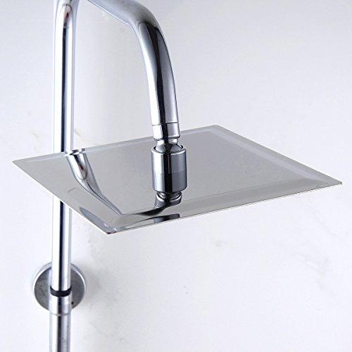 Eyekepper stainless steel shower head rain style