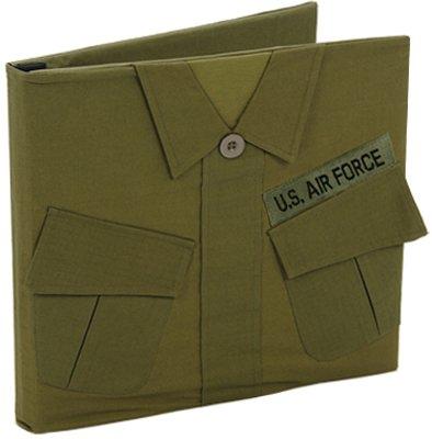 Uniformed U.S. Air Force Uniform Keepsake Album