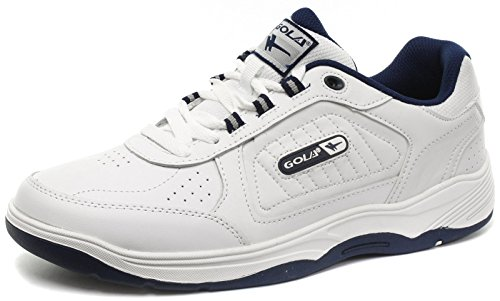 Gola Belmont WF White Mens Wide Fit Sneakers, Size 49
