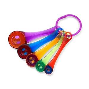 Kizmos Get Happy Measuring Spoons by Kizmos