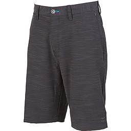 Billabong Men\'s Crossfire X Slub Submersible Shorts, Black, 32