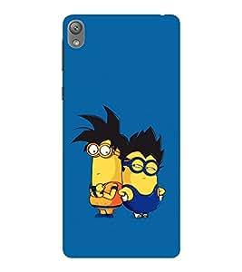 EPICCASE Cool Dudes Mobile Back Case Cover For Sony E5 (Designer Case)