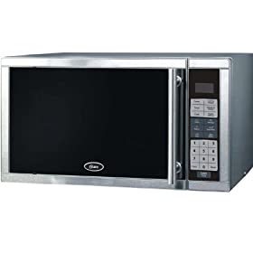 Oster AM980SS 0.9 Cu. Ft. 900W Digital Microwave (Silver)