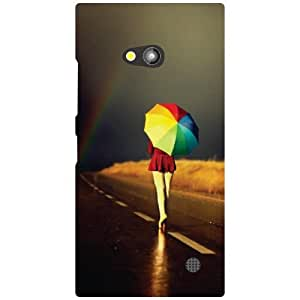 Nokia Lumia 730 Back Cover - Starry Designer Cases