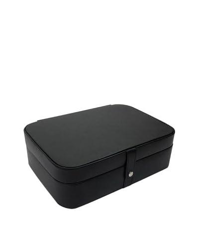 Morelle & Co. Kimberly Versatile Jewelry Box, Black