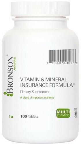 Vitamin And Mineral Insurance Formula