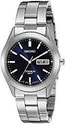 Seiko Men's SGG709 Titanium Watch