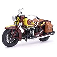 Newray 1:12 Indian Motorcycle, Multicolor