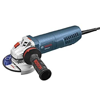 Get Compare Bosch AG40-11P 4-1/2-Inch High-Performance Angle Grinder with Paddle Switch, 11-Amp