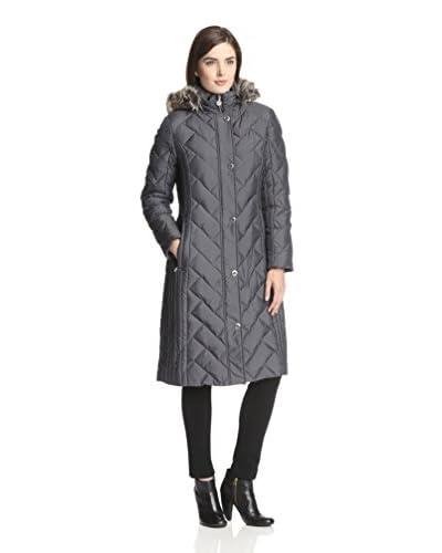 Anne Klein Women's Long Down Maxi Coat