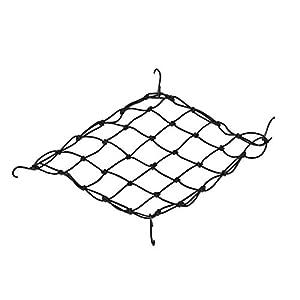 Pyramid Bicycle Bungie Cargo Net, Black