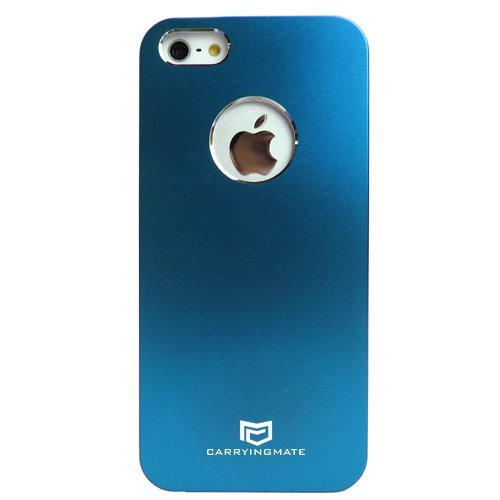 Carryingmate Industries USA CMT30113 Aluminum Snap-N-Go Case for iPhone 5 - 1 Pack - Retail Packaging - Blue (Blue Light Reducer compare prices)
