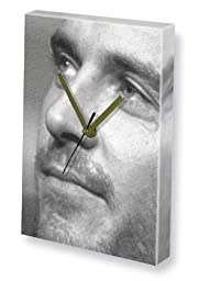 MICHAEL FASSBENDER - Canvas Clock (LARGE A3 - Signed by the Artist) #js005