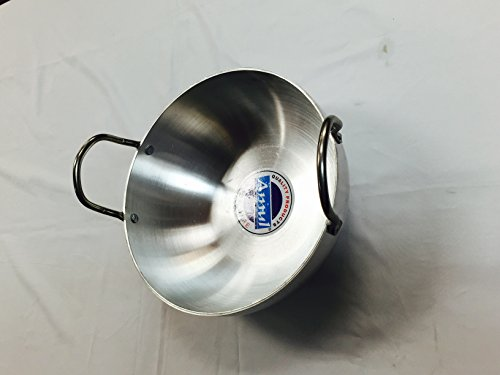 Indian Kadai,Frying Pan size 1 East West USA Store