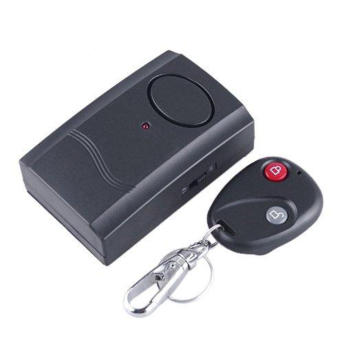 KINGMAS(R) Wireless Home Door Window Security Remote Control Vibration Detector Burglar Alarm