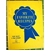 img - for My Favorite Recipes book / textbook / text book