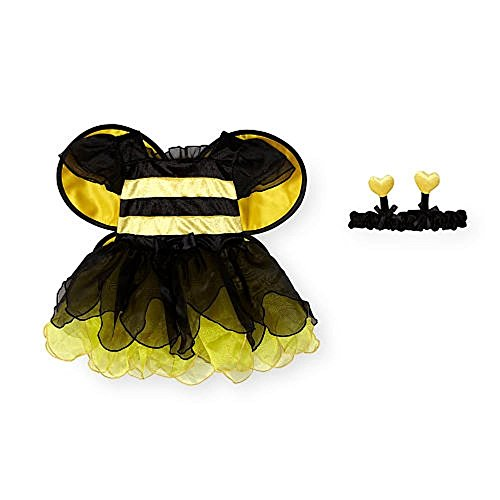 Koala Kids Girls 2 Piece Yellow/Black Bumblebee Costume with Headband 9M-12M (Infant Bumble Bee Costume)