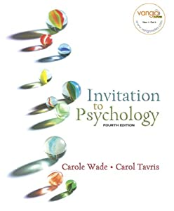 Invitation to Psychology (4th Edition) (MyPsychLab Series)