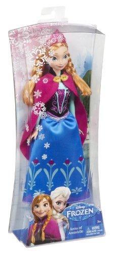 Imagen de Disney congelado Sparkle Anna de Arendelle muñeca