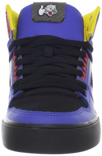 pictures of DC Men's Spartan Hi WC TP Sneaker,Black/Royal,10 M US