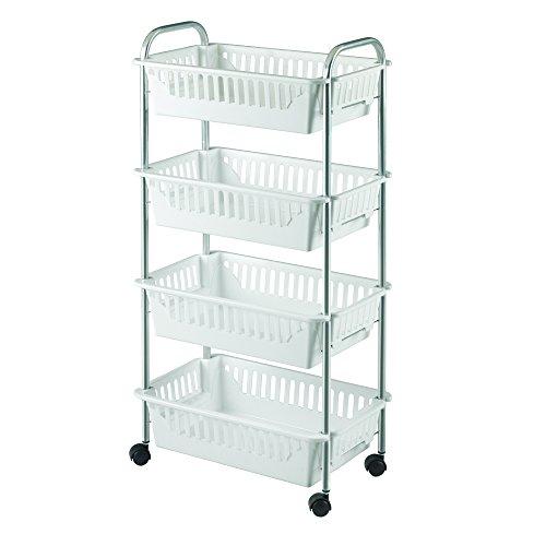 metaltex-oslo-4-carrello-multiuso-4-cestini-colore-argento-bianco