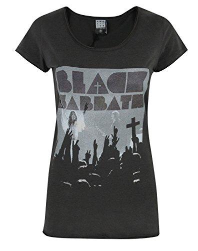 Donne - Amplified Clothing - Black Sabbath - T-Shirt (M)