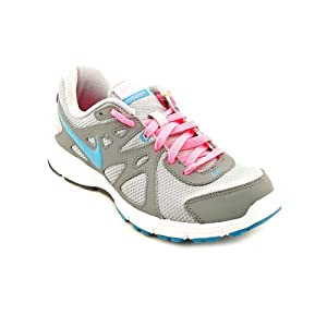 Nike Women's Nike Revolution Running Shoes 8 Us (Wlf Grey/n Trq/cl Gry/dgtl Pink)
