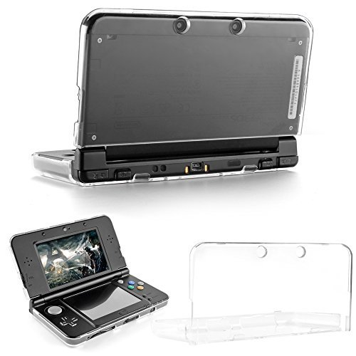 TNP New 3DS Case - Ultra Clear Crystal Transparent Hard Shell Protective Case Cover Skin for New 2015 Nintendo 3DS