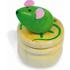 Boîte à dent de lait - Souris verte
