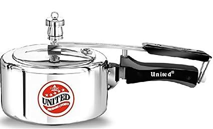 United 1.5 L Aluminium Pressure Cooker (Inner Lid)