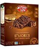 Enjoy Life Decadent Bars, S'mores, Gluten, Dairy, Nut & Soy Free, 1.2 Ounce Bars - 5 Count, 6 Ounce (Pack of 6)