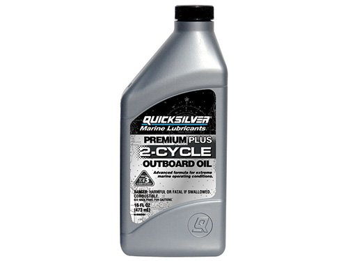Quicksilver 25Q01 Premium Plus 2-Cycle Outboard Oil - 16 oz. (Outboard 2 Cycle Oil compare prices)