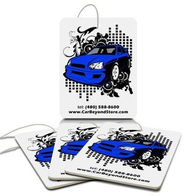 Blue Car Air Freshener, 3 Pack
