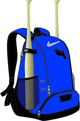 Nike Baseball Bat Backpack - Black: Amazon.co.uk: Clothing