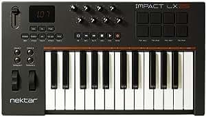 Nektar Impact LX25 25 note USB keyboard