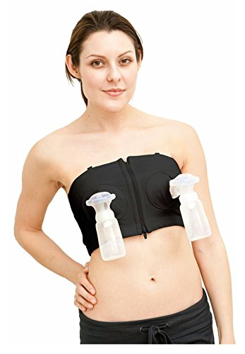 Cheapest Prices! Healthy Life Hands-Free Breastpump Bra (Black) XS to L MobileBro