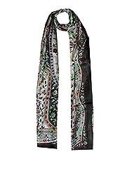 Dream Fashion pure tabby silk Women's Stole