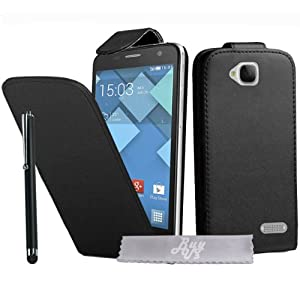 Etui Housse Luxe pour Alcatel One Touch idol S / Bouygues Telecom BS472 / Ultym 4 + STYLET et 3 FILMS OFFERTS !!