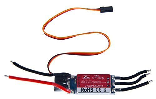 Ztw Spider 30A Opto SMALL 2-6S LiPo 600Hz SimonK ESC Model: , Toys & Games for Kids & Child