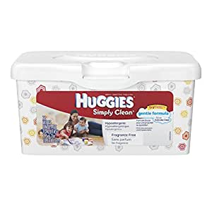Huggies Simply Clean Baby Wipes Pop Up Tub 72 Ct Amazon