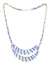 Bluebarry's Beautiful Metal Thread Necklace For Women - B00HJKQTBS