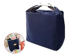 sac d jeuner pique nique isotherme lunch bag bleu fonc cuisine maison. Black Bedroom Furniture Sets. Home Design Ideas