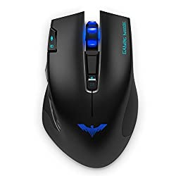 HAVIT ' HV-MS978GT 2.4GHz Wireless Tunable Gaming Mouse for PC/Computer/Laptop