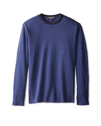 Robert Barakett Men's Connor Long Sleeve Crew Neck Shirt